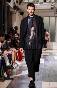 YOHJI YAMAMOTO MENSWEAR SPRING SUMMER 2018 PARIS5