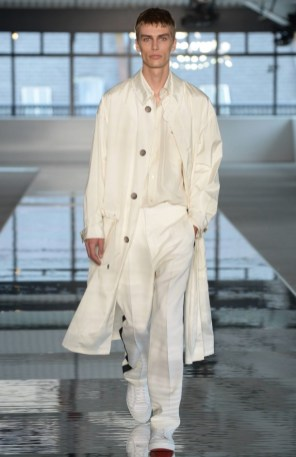 BOSS MENSWEAR SPRING SUMMER 2018 NEW YORK19