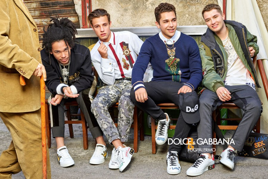 DOLCE AND GABBANA AW17 CAMPAIGN12