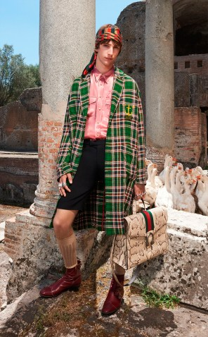 GUCCI RESORT 2018 MENSWEAR70