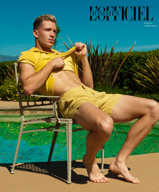 SEASON IS OPEN EDIOTIRAL BY RYAN JEROME FOR LOFFICIEL HOMMES UKRAINE2