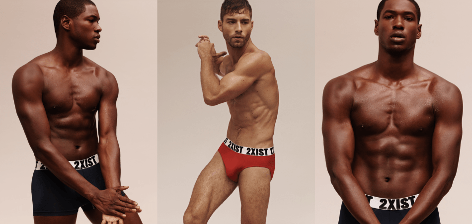 Andre Ziehe and Ronald Epps for 2XIST AW17 Campaign