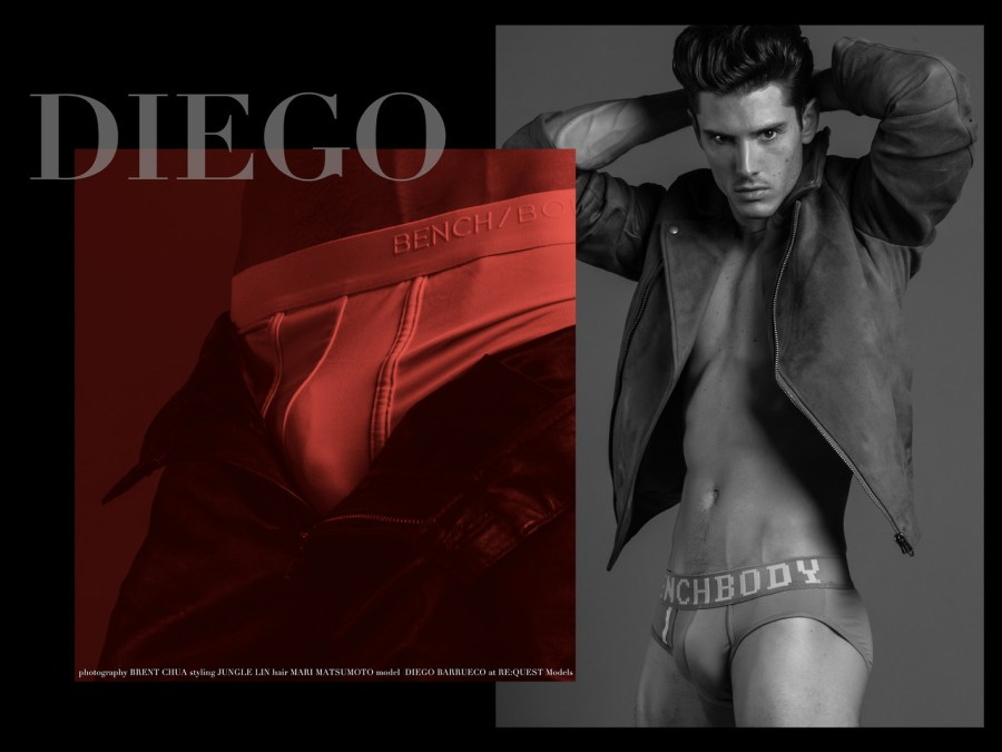 Diego Barrueco by Brent Chua for BENCH Body1