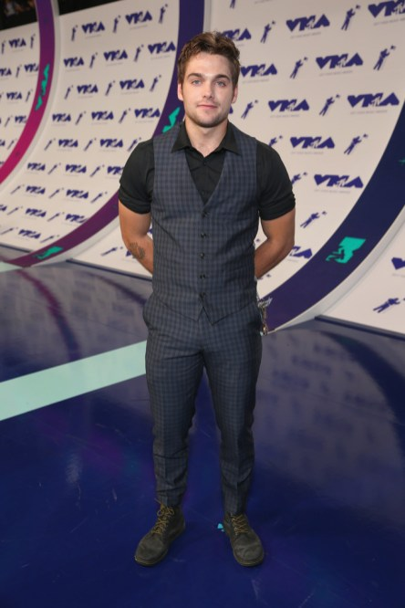 Dylan Sprayberry attends the 2017 MTV Video Music Awards at The Forum on August 27, 2017 in Inglewood, California.