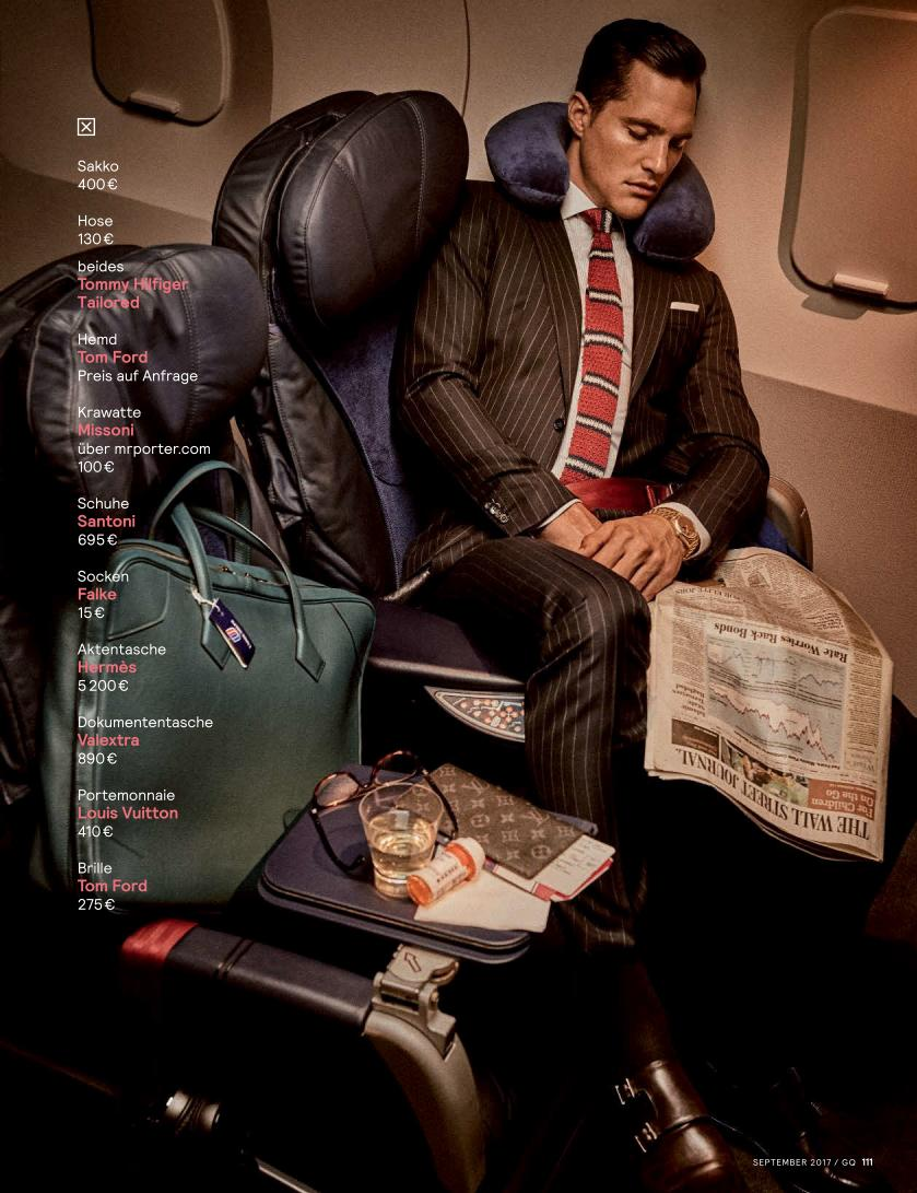 "GQ Germany September 2017: Sean O'Pry & Ollie Edwards by Giampaolo Sgura ""Business Class""4"
