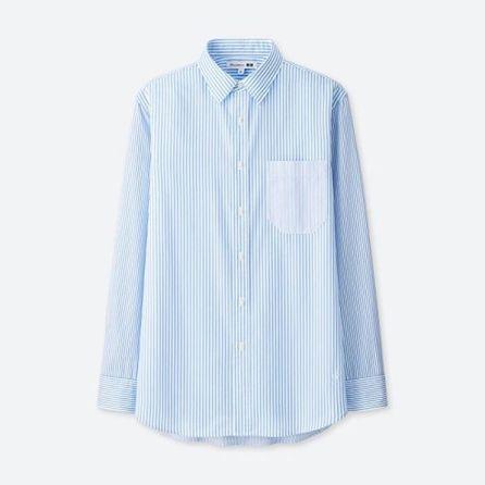 JWA Extra Fine Cotton Broadcloth Long-Sleeve Shirt $29.90