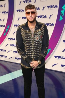 James Arthur attends the 2017 MTV Video Music Awards at The Forum on August 27, 2017 in Inglewood, California.