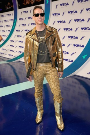 Jeremy Scott attends the 2017 MTV Video Music Awards at The Forum on August 27, 2017 in Inglewood, California.