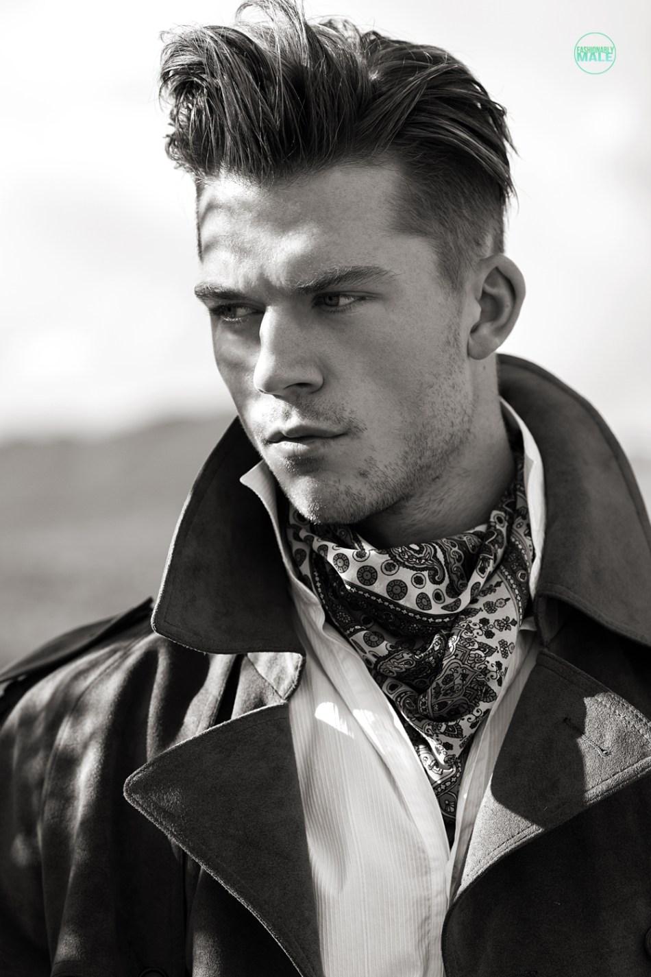 Kaz van der Waard by Ivan Avila for Fashionably Male9