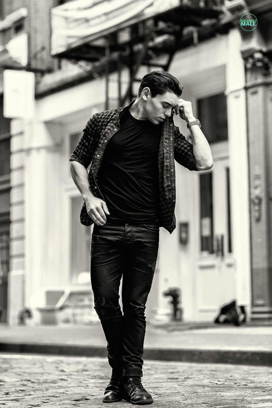 Ryan Kolton by Armando Adajar Fashionably Male11