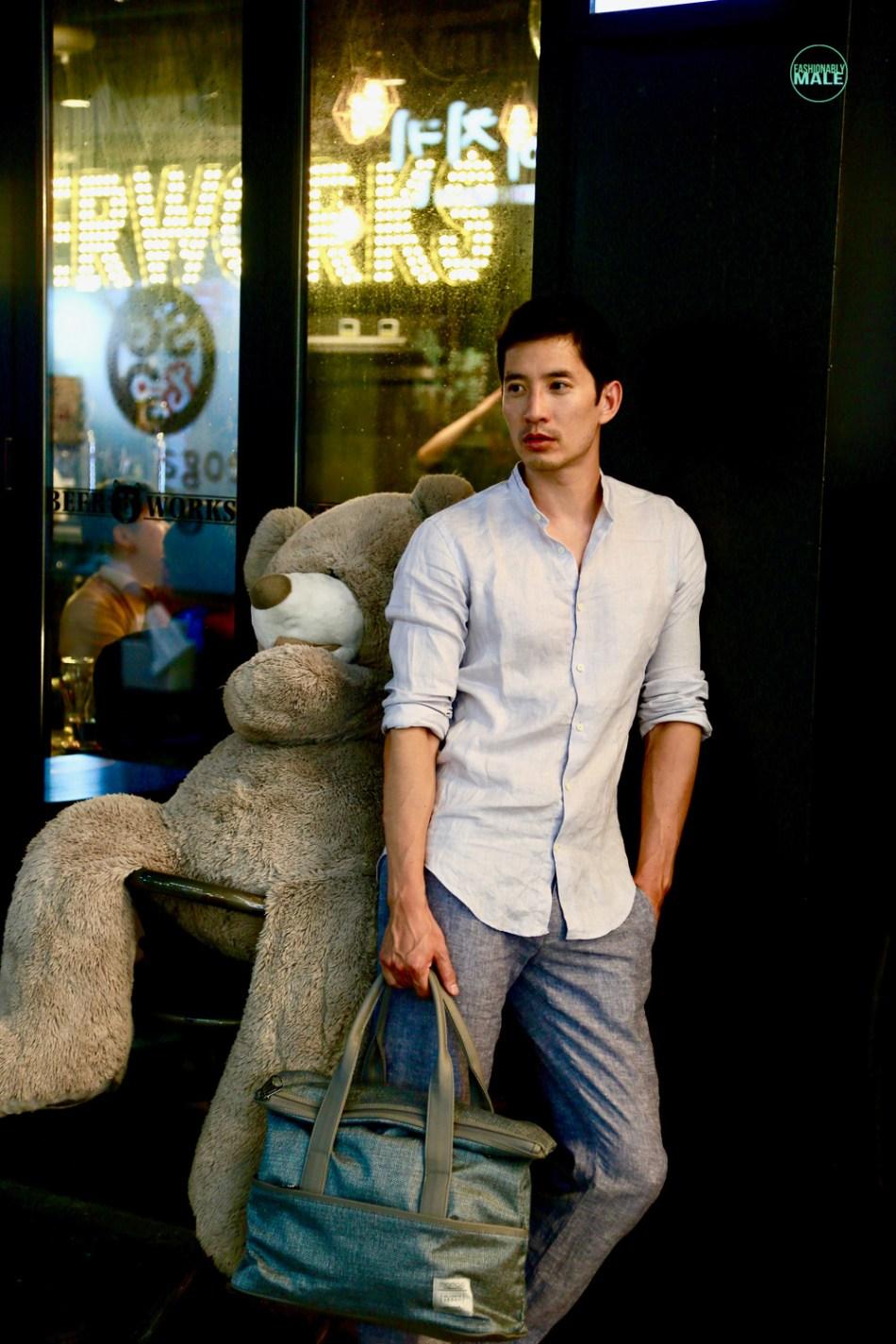 The Night Watchman Richie Kul by Wendy Loke for Fashionably Male1