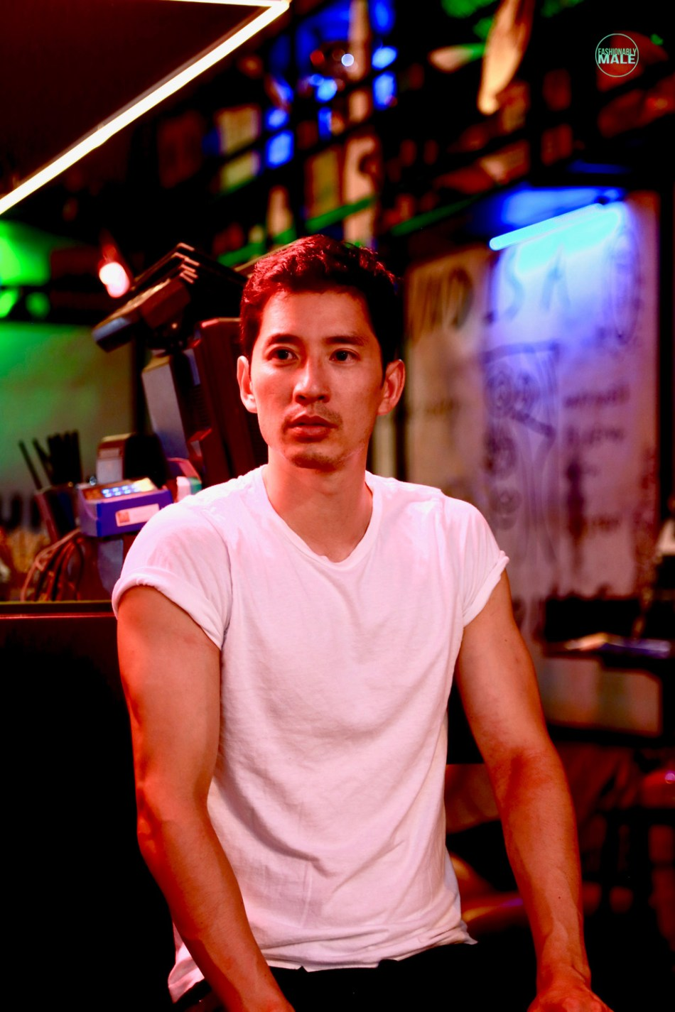 The Night Watchman Richie Kul by Wendy Loke for Fashionably Male8