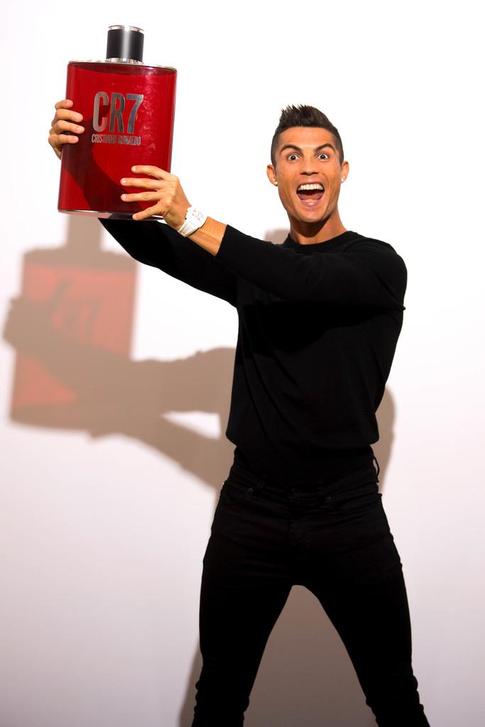 CR7 Cristiano Ronaldo Fragance Launch3