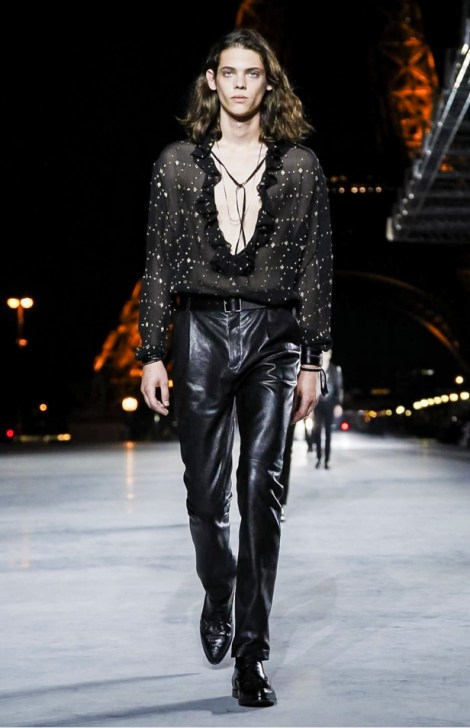 SAINT LAURENT READY TO WEAR SPRING SUMMER 2018 PARIS3