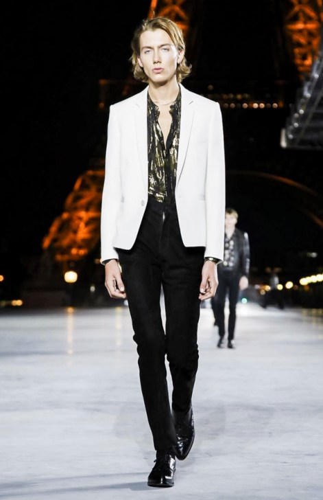 SAINT LAURENT READY TO WEAR SPRING SUMMER 2018 PARIS4