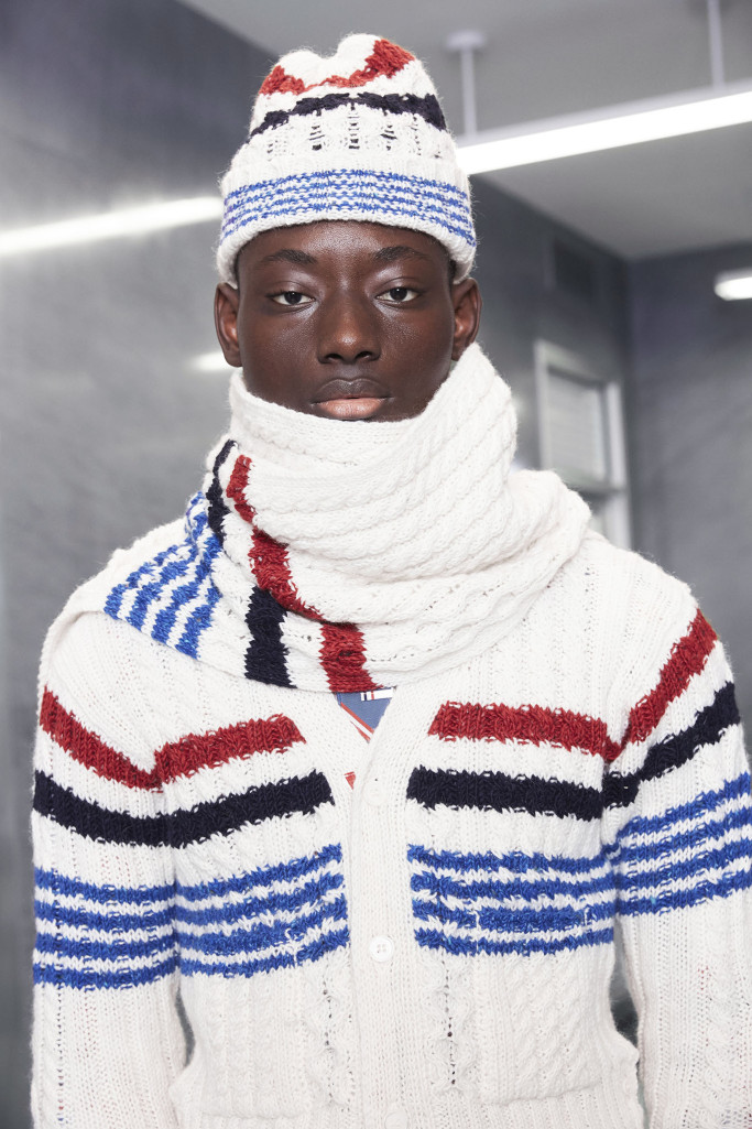 Looks from Thom Browne's Colette takeover