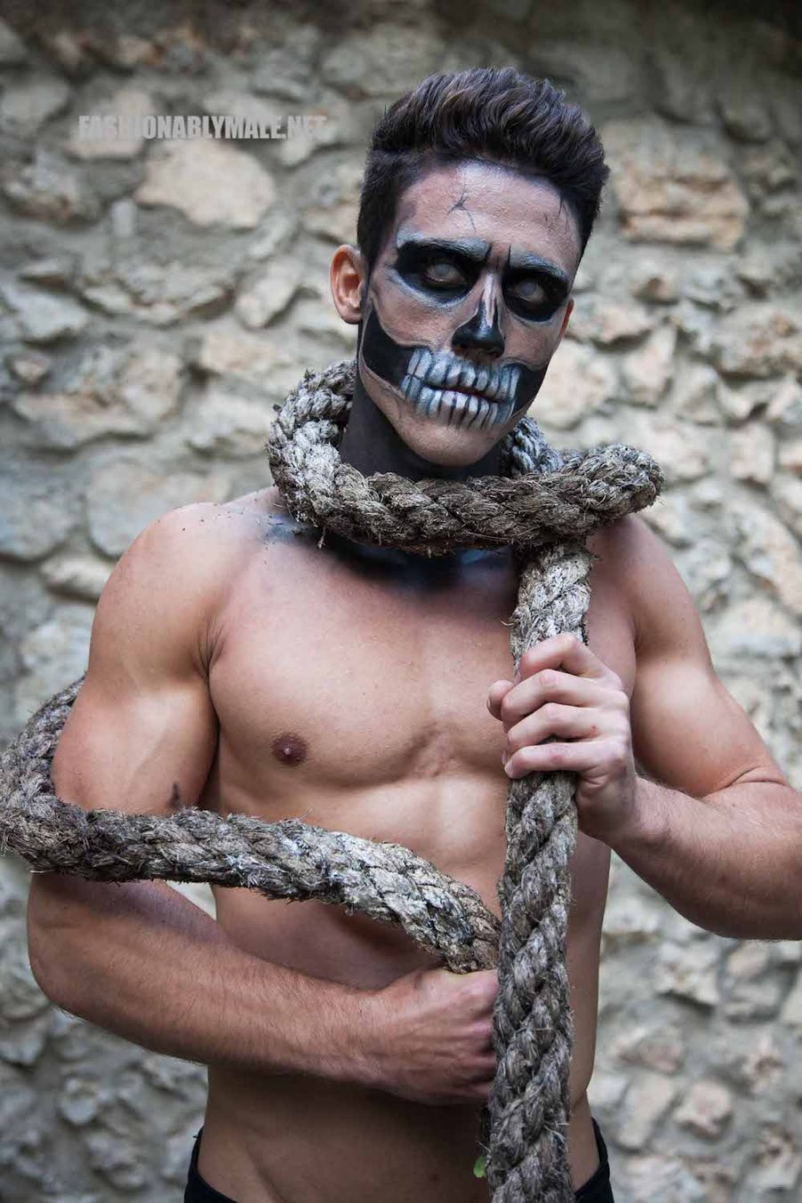 Halloween Skull Boy Borja by Jose Martinez21