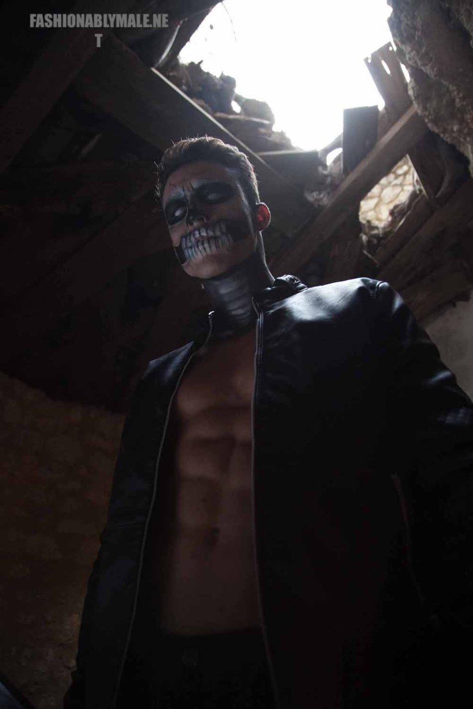 Halloween Skull Boy Borja by Jose Martinez7