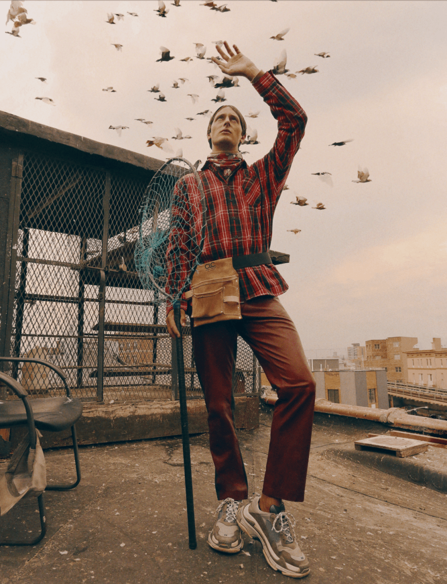 Nick Shaw by Gabriela Celeste for ODDA 131