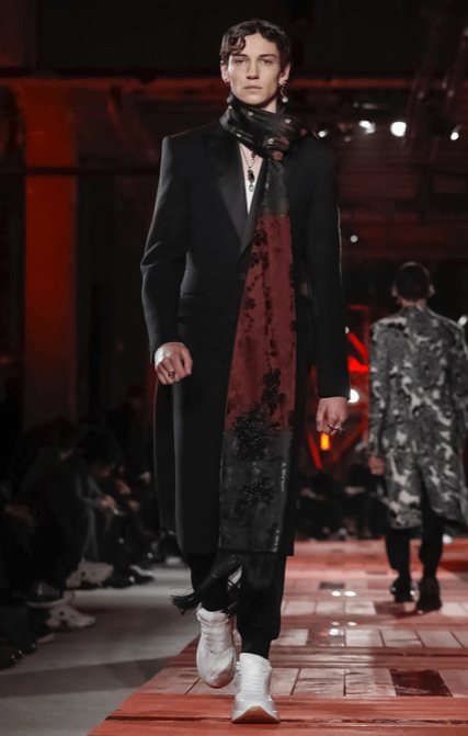 ALEXANDER MCQUEEN MENSWEAR FALL WINTER 2018 PARIS26