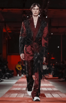 ALEXANDER MCQUEEN MENSWEAR FALL WINTER 2018 PARIS34