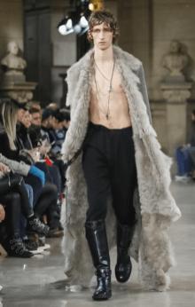 ANN DEMEULEMEESTER MENSWEAR FALL WINTER 2018 PARIS8