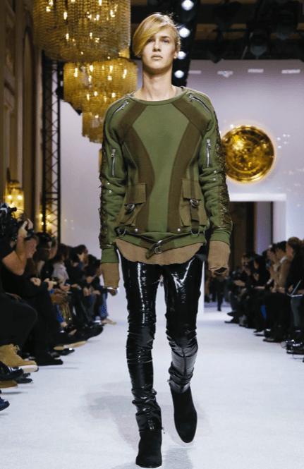 BALMAIN HOMME MENSWEAR FALL WINTER & WOMEN PREFALL 2018 PARIS14