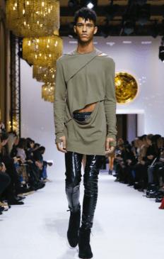 BALMAIN HOMME MENSWEAR FALL WINTER & WOMEN PREFALL 2018 PARIS8