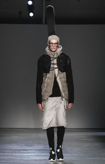 BORIS BIDJAN SABERI MENSWEAR FALL WINTER 2018 PARIS19
