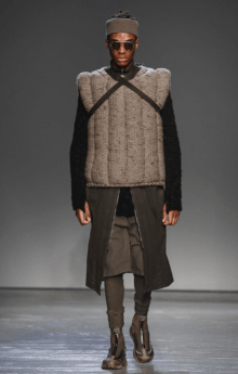 BORIS BIDJAN SABERI MENSWEAR FALL WINTER 2018 PARIS2