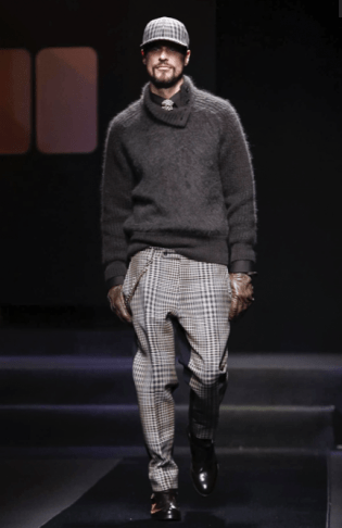 DAKS MENSWEAR FALL WINTER 2018 MILAN6