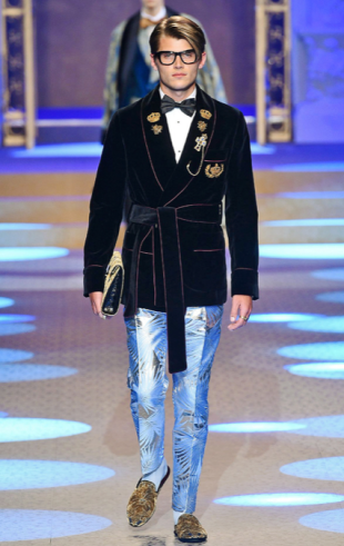 DOLCE & GABBANA MENSWEAR FALL WINTER 2018 MILAN18