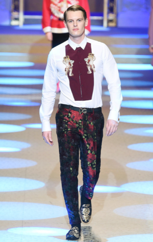 DOLCE & GABBANA MENSWEAR FALL WINTER 2018 MILAN41