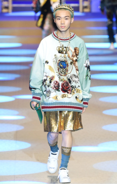 DOLCE & GABBANA MENSWEAR FALL WINTER 2018 MILAN51