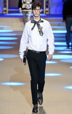 DOLCE & GABBANA MENSWEAR FALL WINTER 2018 MILAN6