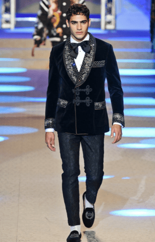 DOLCE & GABBANA MENSWEAR FALL WINTER 2018 MILAN85