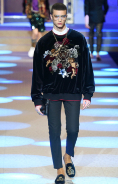 DOLCE & GABBANA MENSWEAR FALL WINTER 2018 MILAN89