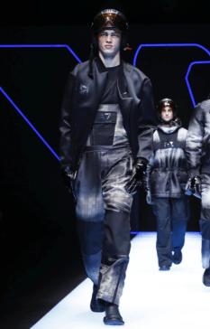 EMPORIO ARMANI MENSWEAR FALL WINTER 2018 MILAN57