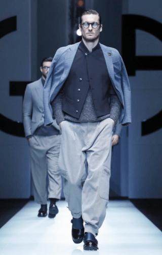 GIORGIO ARMANI MENSWEAR FALL WINTER 2018 MILAN10