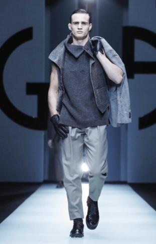 GIORGIO ARMANI MENSWEAR FALL WINTER 2018 MILAN86