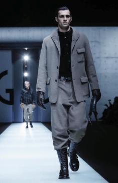 GIORGIO ARMANI MENSWEAR FALL WINTER 2018 MILAN88