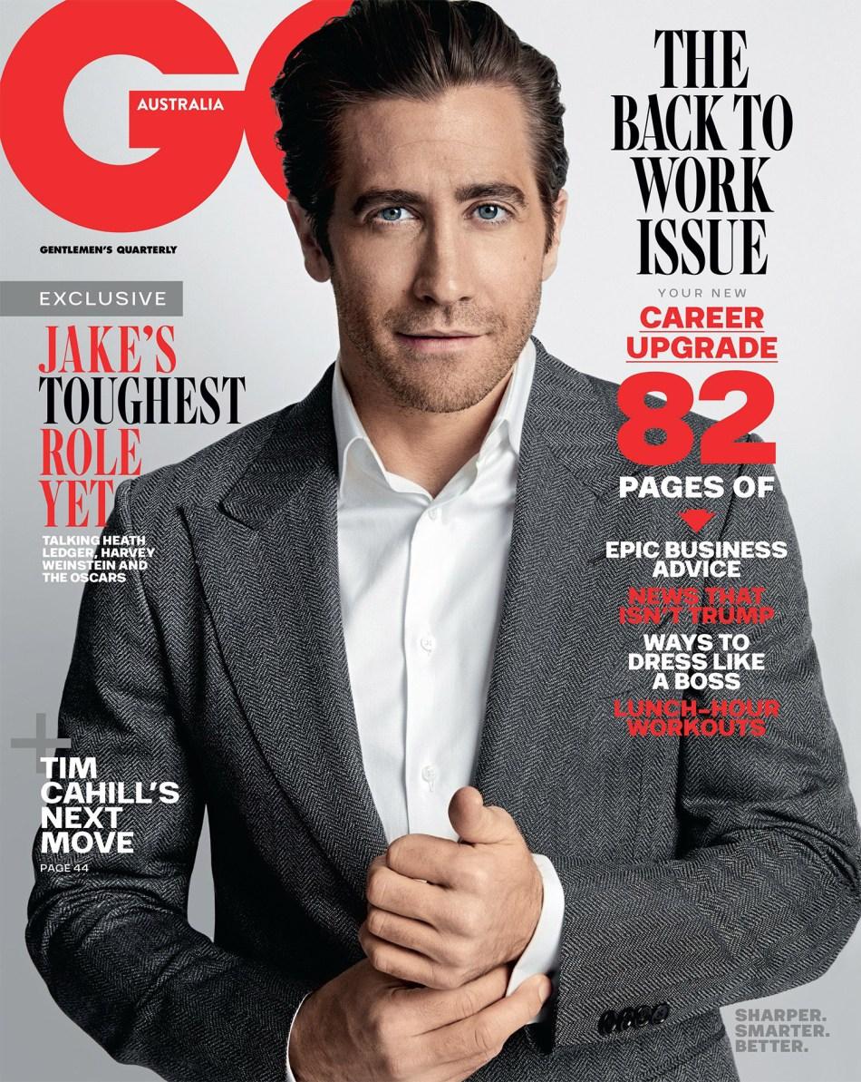 Jake Gyllenhaal GQ Australia February 20188