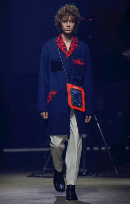 KENZO MEN & WOMEN MENSWEAR FALL WINTER 2018 PARIS13