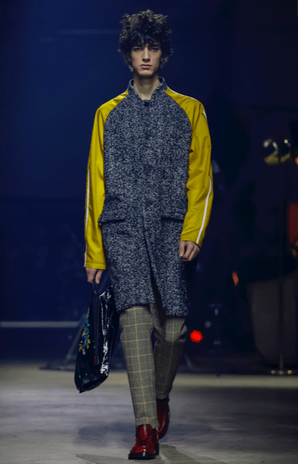 KENZO MEN & WOMEN MENSWEAR FALL WINTER 2018 PARIS78