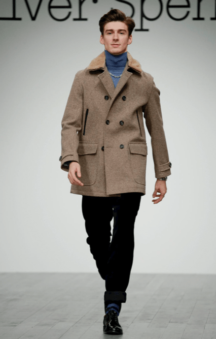 OLIVER SPENCER MENSWEAR FALL WINTER 2018 LONDON13