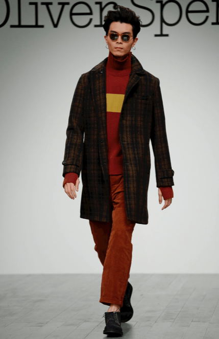 OLIVER SPENCER MENSWEAR FALL WINTER 2018 LONDON14