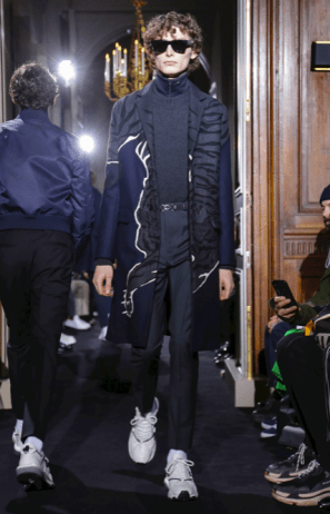 VALENTINO MENSWEAR FALL WINTER 2018 PARIS6