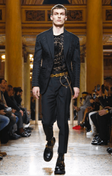 VERSACE MENSWEAR FALL WINTER 2018 MILAN4