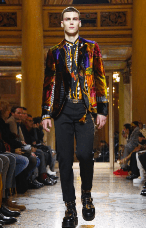 VERSACE MENSWEAR FALL WINTER 2018 MILAN6