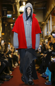 VETEMENTS MENSWEAR FALL WINTER 2018 PARIS13